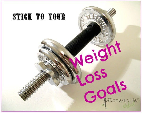 How to stick to weight loss goals