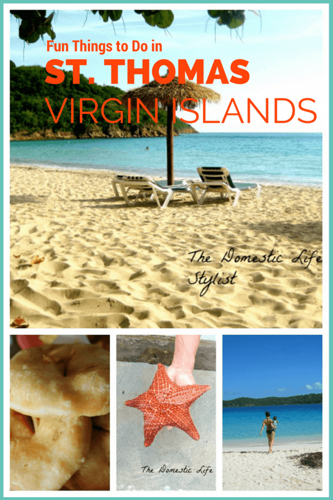 Beach in St. Thomas, Virgin Islands