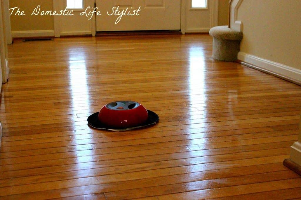 how to clean hardwood floor with O-Duster