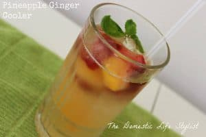 Pineapple and ginger drink