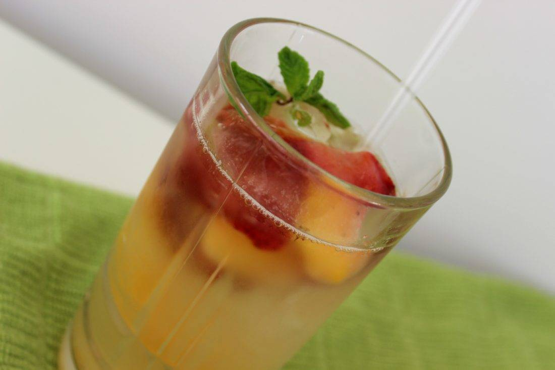 Pineapple ginger drink