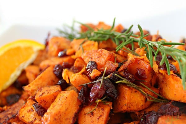 Orange Rosemary Sweet Potatoes #2