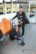 Make Traveling with young children easy with the Ride-On Carry-On