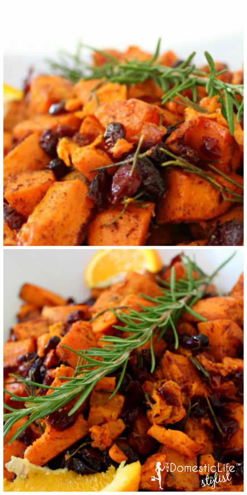 orange rosemary sweet potato