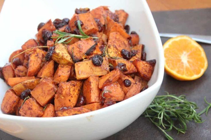 Orange-Rosemary Sweet Potatoes