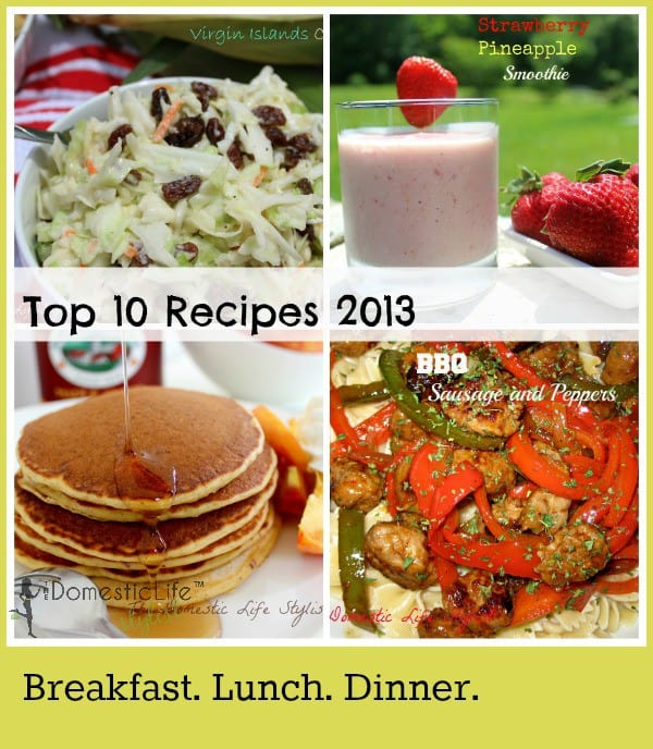 Top 10 Food posts 2013 3