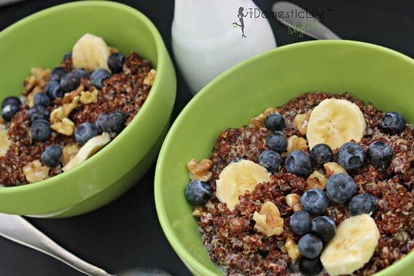 Breakfast quinoa 1