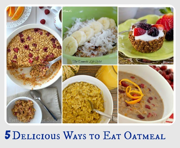 5 Ways to Eat Oatmeal