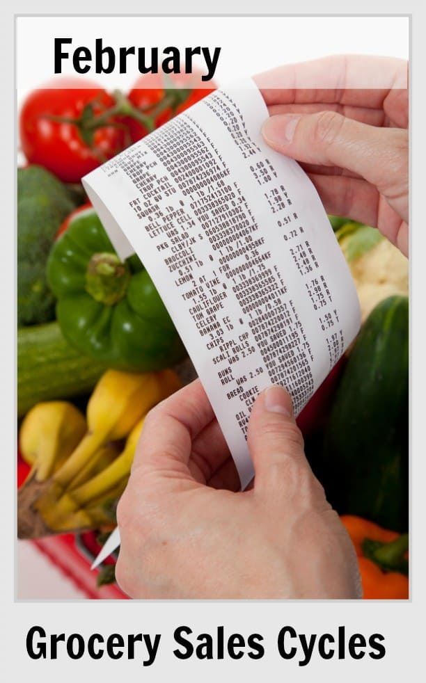 February Grocery Sales Cycles