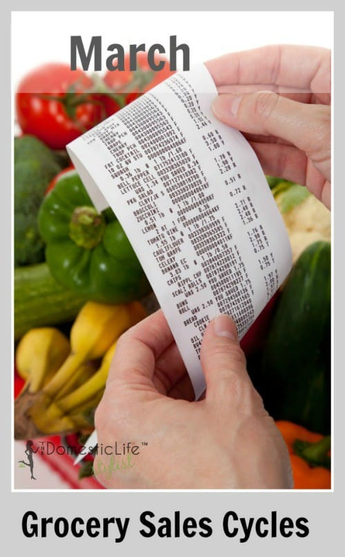 March Grocery Sales Cycles