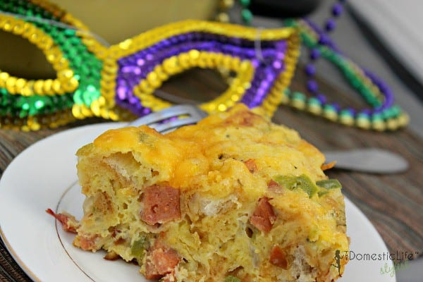 mardi gras breakfast casserole slice (final cut)