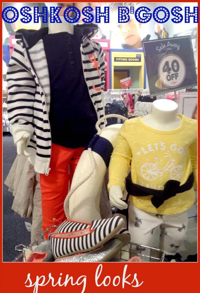 oshkosh b'gosh spring fashion