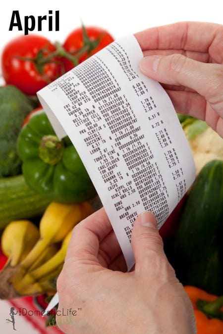 April Grocery Sales Cycles
