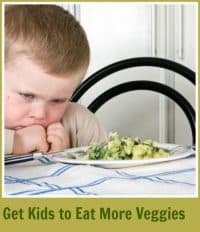 Get kids to eat veggies