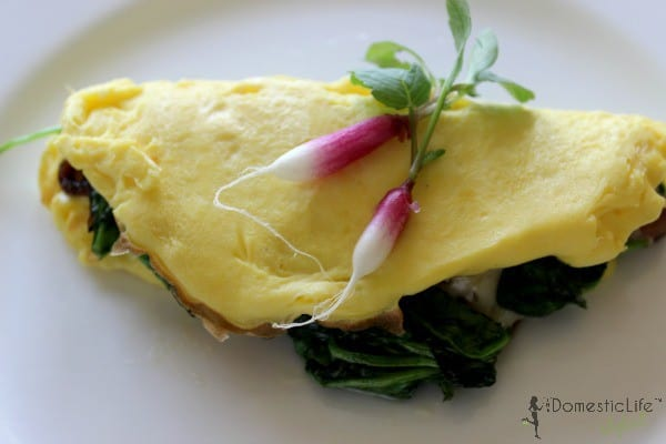 french omelette at Hay Adams