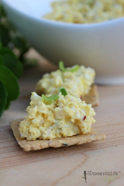Simply egg salad recipe made with just a few ingredients