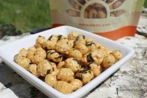 Seaweed rice pops