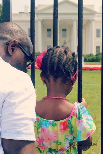 white house, father daughter activities