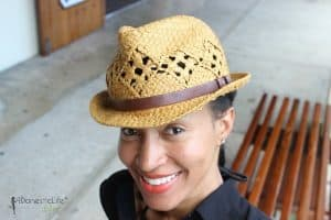 What to wear on an island vacation: fedora straw hat