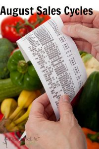 August Grocery Sales Cycles
