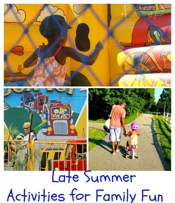 Late Summer Activities for Family Fun
