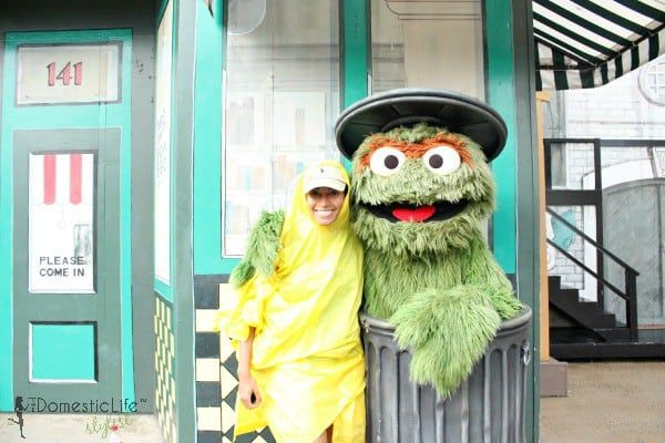 oscar the grouch with mom