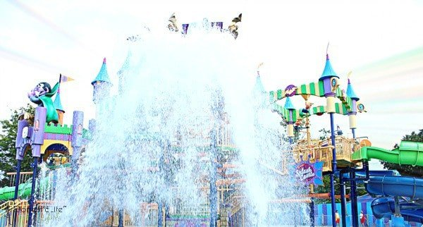water ride at Sesame place