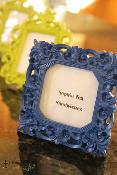 Sophia tea sandwiches