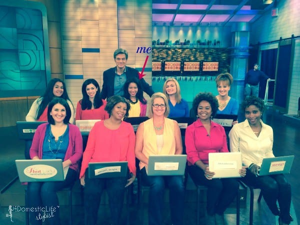 The Dr. Oz Show Mom Bloggers Group Shot (2)