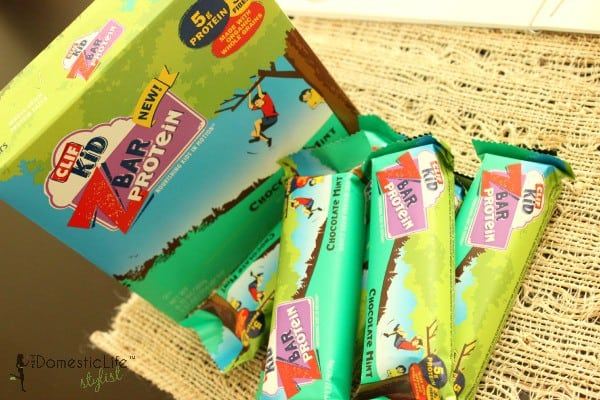 kids mint chocolate cliff bars