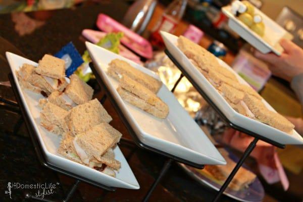 princess tea sandwiches