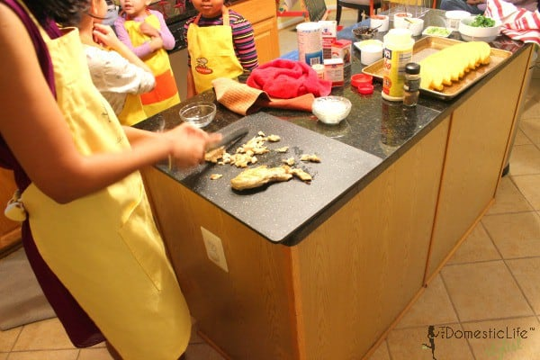 birthday cooking party