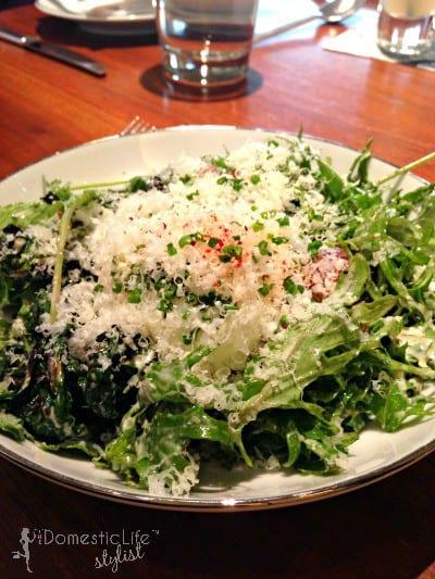 charred caesar salad blue duck tavern