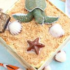 Easy Earth Day Beach Cake