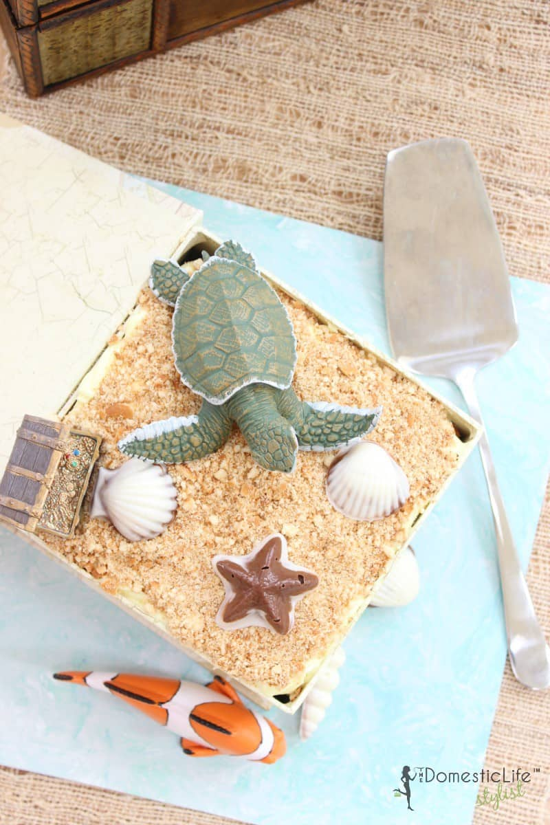 Earth Day Beach Cake
