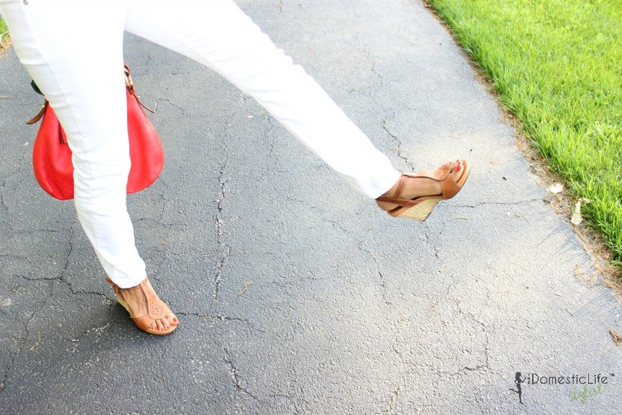 clark nude wedges