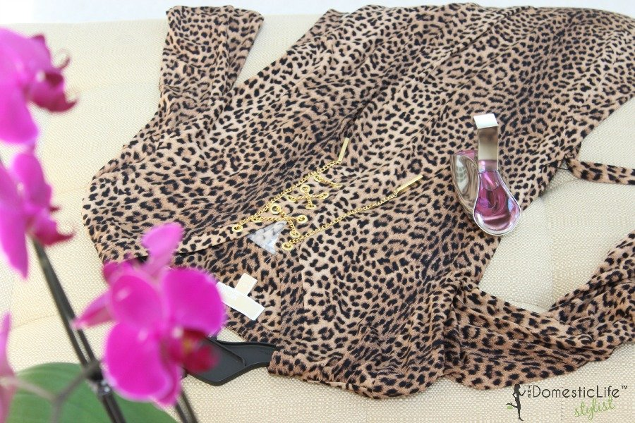 michael kors leopard print dress 900x600