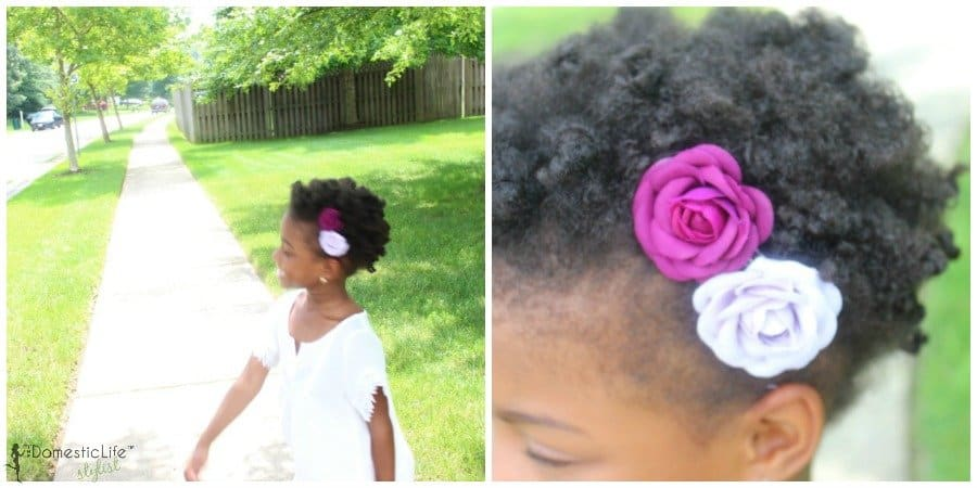 4c hair collage