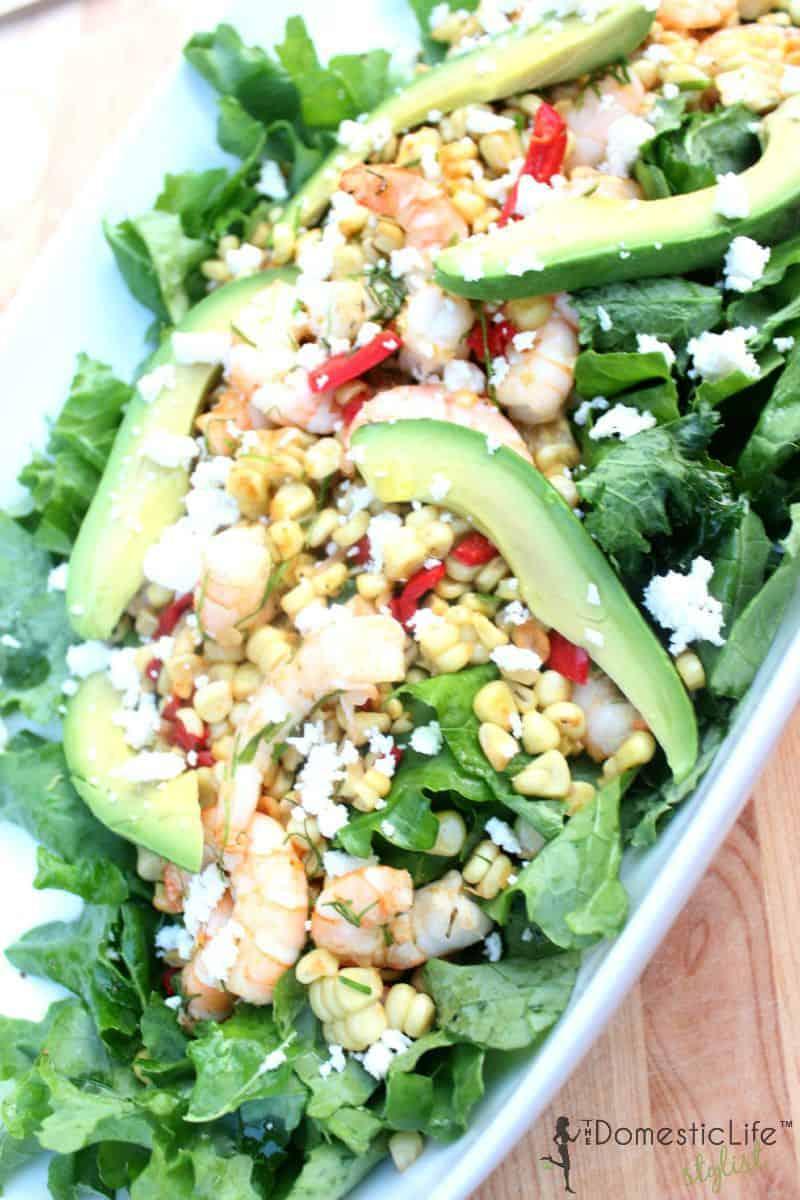corn, avocado and shrimp salad 800x1200