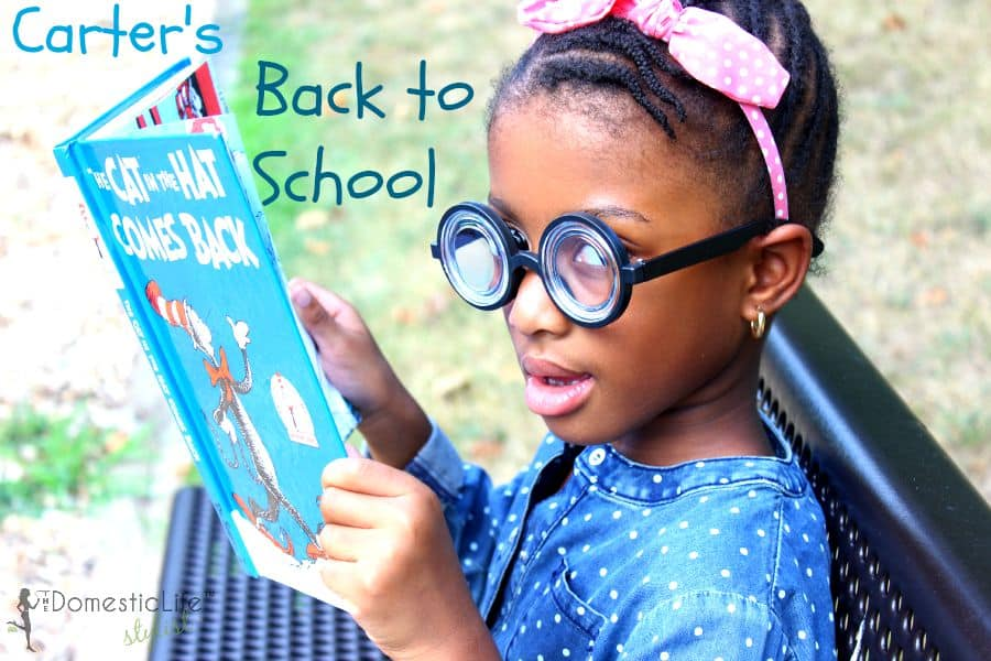 carter's back to school title image