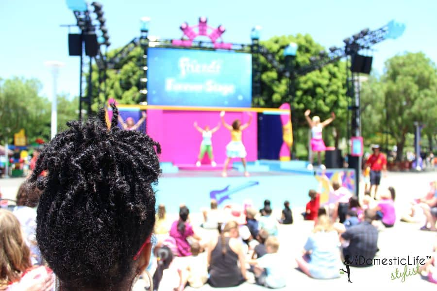 friends forever stage Legoland
