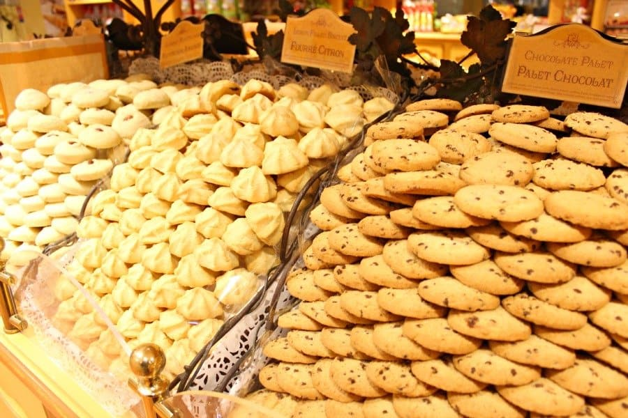 french handmade cookies