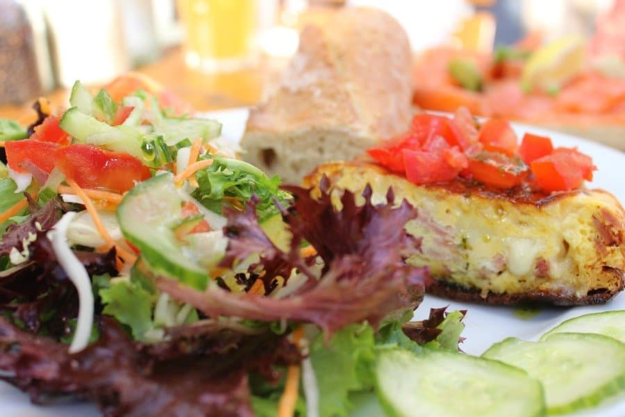 frittata at the french toast in france