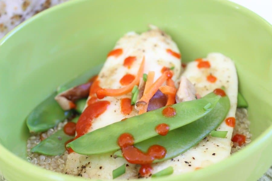 tilapia with chilli sauce