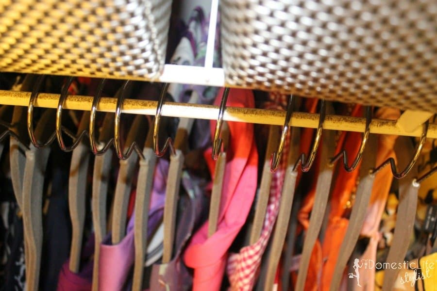 organized small closet 2