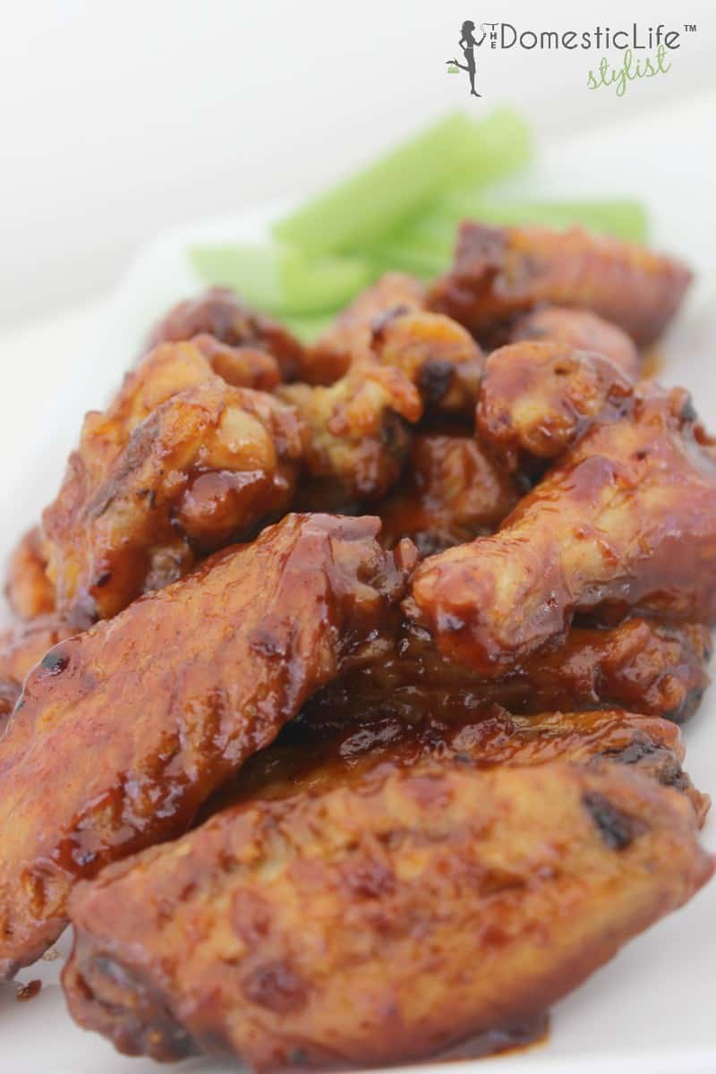 sticky strawberry barbecue hot wings1
