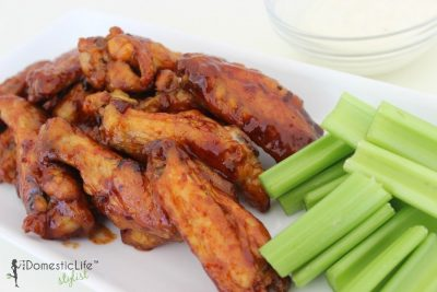 strawberry barbecue hot wings