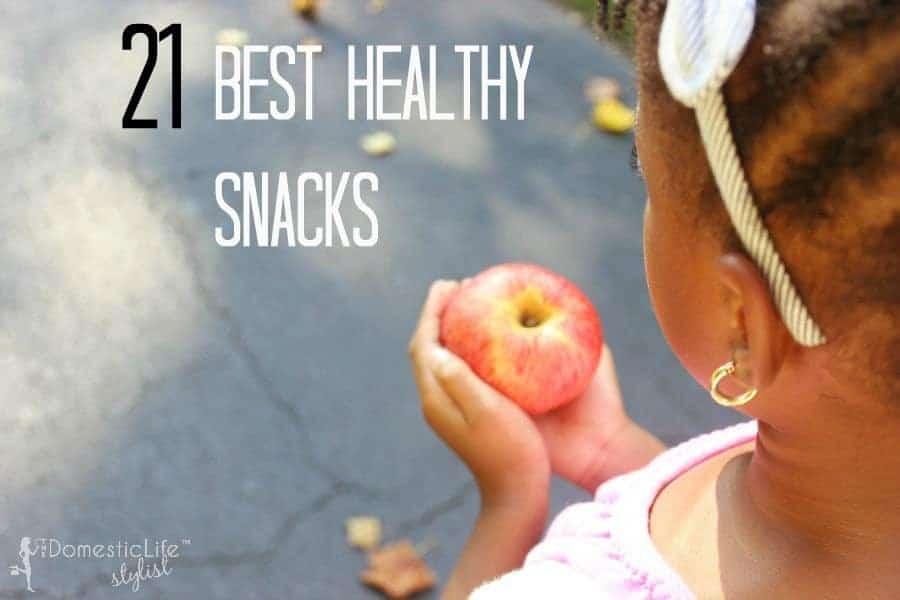 21 best healthy snacks