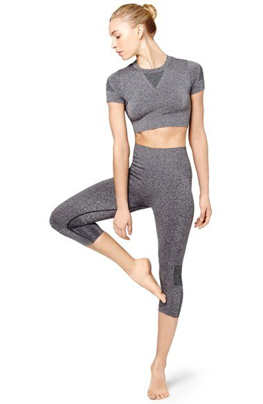 ivy pary gray work out clothes