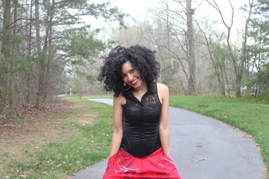 red flowy skirt 4